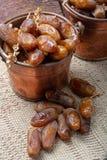 El tunecino auténtico Deglet Nour secó las fechas con suavidad miel-como gusto imagen de archivo libre de regalías