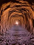 El tunel en San Pedro de Atacama foto de archivo