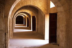EL Tunisie romaine de djem de Colisé photos libres de droits