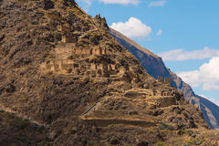 El Tunupa at Ollantaytambo Royalty Free Stock Images