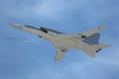El Tupolev Tu-22M3 (petardeo) Foto de archivo libre de regalías