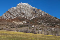 El Turbon mountain. In the Aragonese Pyrenees, Spain Stock Photography