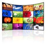 El TV-Panel Foto de archivo libre de regalías