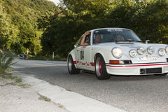 El Tyrol del sur cars_2015_Porsche clásico 911 Carrera RS_schenna Roa Foto de archivo libre de regalías