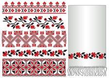 El ucraniano borda las flores libre illustration
