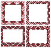 El ucraniano borda marcos Imagen de archivo libre de regalías