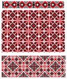 El ucraniano borda textura Fotografía de archivo