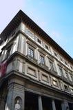 El Uffizi en Florencia - Italia Imagenes de archivo
