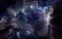 El universo hermoso Fotos de archivo