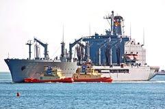 El USNS Guadalupe Imagen de archivo libre de regalías