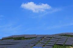 El uso de la energía solar imágenes de archivo libres de regalías