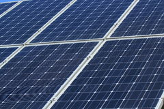 El uso de la energía solar fotografía de archivo libre de regalías