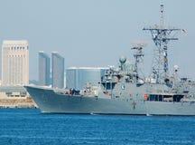 El USS Gary (FFG-51) Fotografía de archivo
