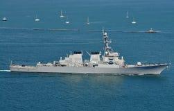 El USS Higgins (DDG 76) Fotos de archivo libres de regalías