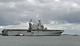 El USS Peleliu (LHA-5) Foto de archivo