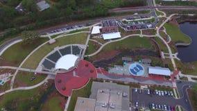 El vídeo aéreo conecta en cascada el parque almacen de video
