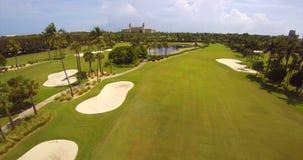 El vídeo de la antena de West Palm Beach de los trituradores almacen de metraje de vídeo