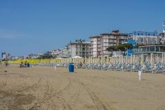 El vacaciones en Lido di Jesolo (en la playa) Foto de archivo