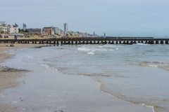 El vacaciones en Lido di Jesolo (en la playa) Imágenes de archivo libres de regalías