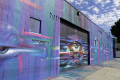 El vagar en Los Ángeles Imagen de archivo