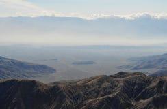 El valle Coachella, Joshua Tree National Park Fotografía de archivo