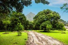 EL Valle de Anton em Panamá fotos de stock