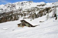 El valle de Aosta Fotos de archivo