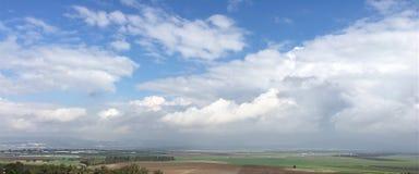 El valle de Armegedon Imagen de archivo