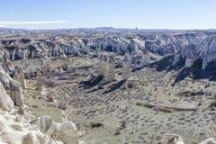 El valle de Capadocia Turquía Fotos de archivo
