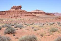 El valle de dioses en Utah, los E.E.U.U. Fotografía de archivo
