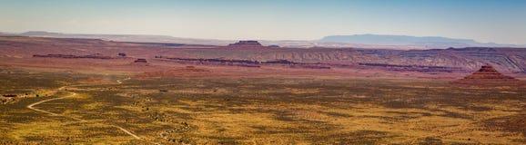 El valle de dioses Utah Fotos de archivo libres de regalías