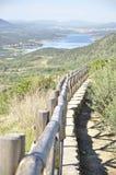 El valle de Jerte, ¡de CÃ ceres, España imagenes de archivo