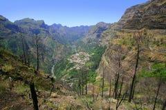 El valle de la monja foto de archivo