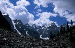 El valle de los diez picos Fotos de archivo