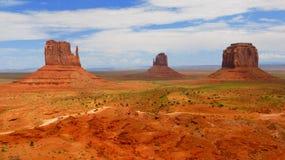 El valle del monumento Imagen de archivo libre de regalías