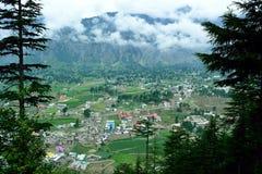 El valle desde arriba imagenes de archivo