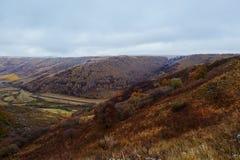 El valle en prado de la caída Imagen de archivo libre de regalías