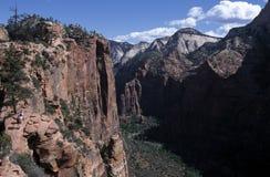 El valle pasa por alto Fotografía de archivo libre de regalías