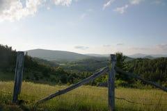 El valle pasa por alto Imagen de archivo