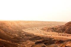 El valle Sáhara de Degla del desierto Fotografía de archivo libre de regalías