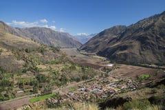 El valle sagrado Imágenes de archivo libres de regalías