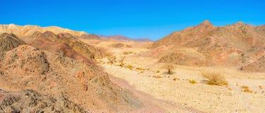 El valle seco Imagenes de archivo