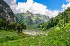 El valle verde Imagen de archivo