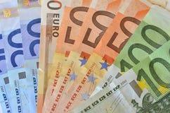 El valor del euro Fotografía de archivo