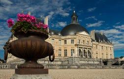 El Vaux-le-Vicomte castle, Francia Foto de archivo libre de regalías