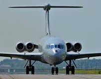 El VC10 pasado Imagen de archivo