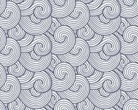 El vector abstracto de la textura, del mar, del océano y del río del viento agita el fondo Modelo del gris del humo y del vapor libre illustration