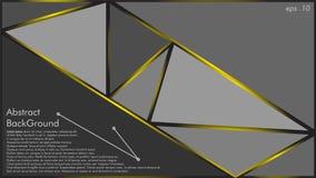 El vector abstracto del fondo de la textura geométrica se puede utilizar en el diseño de la cubierta, diseño del libro, fondo de  ilustración del vector