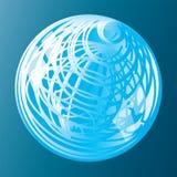 El vector abstracto firma adentro forma de la esfera libre illustration