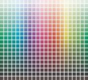 El vector colorea la biblioteca Imágenes de archivo libres de regalías